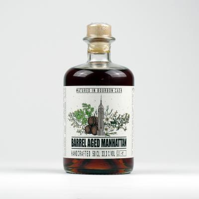 Barrel Aged Manhattan by David Gran – Batch 2 – very Limited Edition 2020