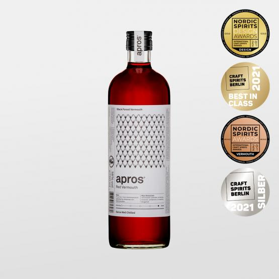 apros Red Vermouth - 750ml