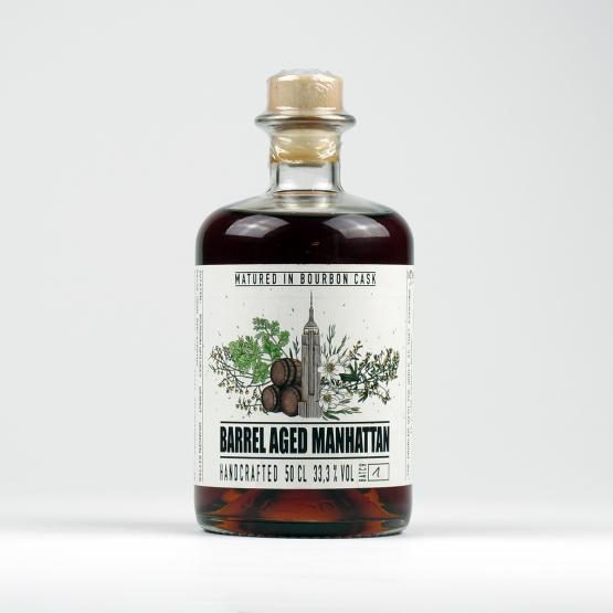 Barrel Aged Manhattan by David Gran – Batch 1 – very Limited Edition 2020